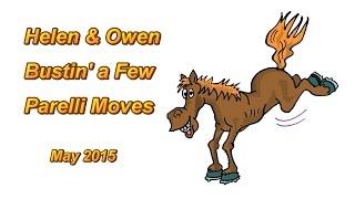 Helen & Owen Bustin' A Few Parelli Moves
