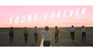 bts young forever lyric video