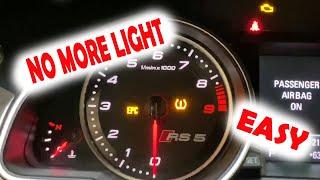 EASY FIX to turn off an airbag light | Audi VW Lamborghini
