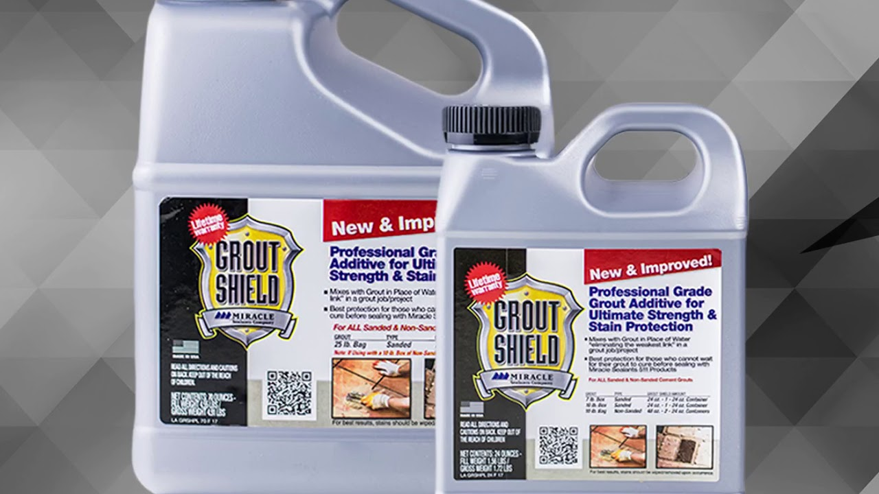Miracle Sealants New I Improved Grout Shield