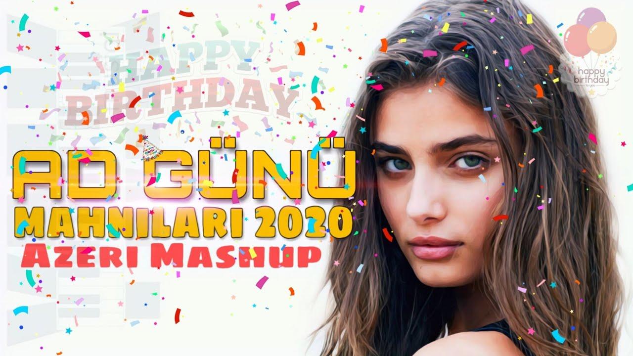 Ad Gunu Mahnilari 2020 Azeri Mashup Super Disco Oynamali Ymk Musiqi Youtube