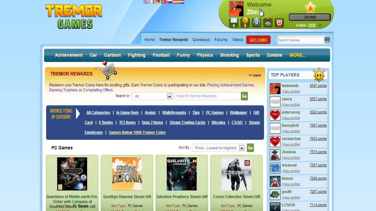 Image Result For Tremor Games Coins Hack