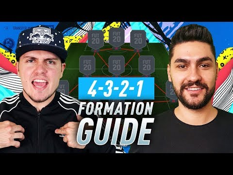 BEST COUNTER ATTACK FORMATION IN FIFA 20 ULTIMATE TEAM - 4321 GUIDE