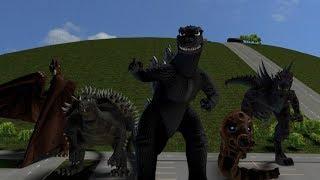 Godzilla Fan Animation Thing -- HD Render Test