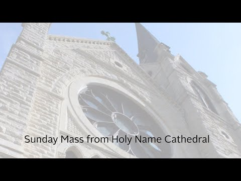 Sunday Mass In English From Holy Name Cathedral - 3/22/2020