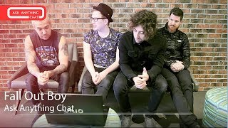 Fall Out Boy Interactive Chat w/ Romeo Saturday Night Online ​​​ - AskAnythingChat