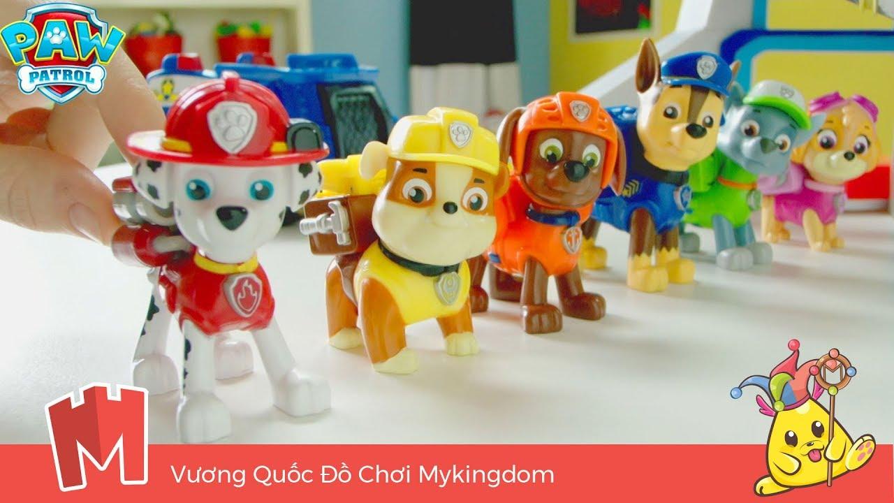 Đồ chơi mô hình Những chú chó cứu hộ Paw Patrol dòng biến hình