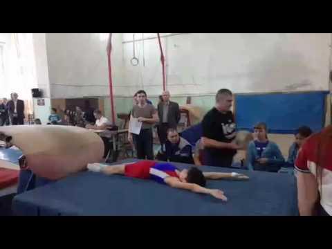 Спортивная гимнастика в Грозном