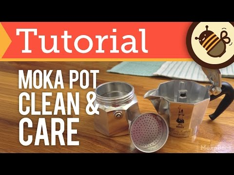 How to Clean & Care for your Moka Pot  (Tutorial)