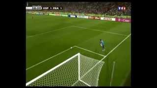 8ème de finale France-Espagne coupe du monde 2006 commentaires en français