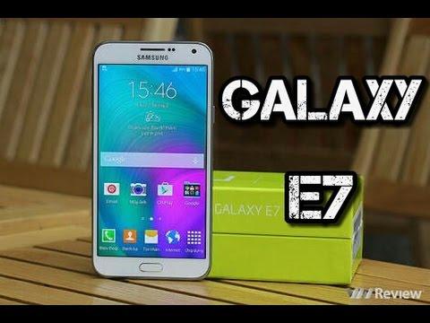 Samsung Galaxy E7, Review, análisis y características en Español.