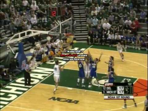 Delaware vs MSU 2007 NCAA Tournament