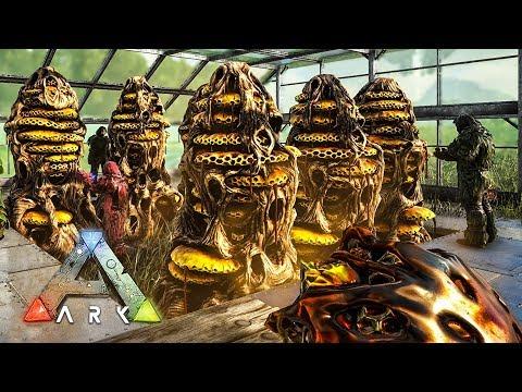 ARK: Survival Evolved - GIANT QUEEN BEE TAMING & HONEY FARM!! (ARK Ragnarok Gameplay)