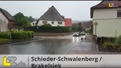 Unwetter am 2. Juni  in Lippe