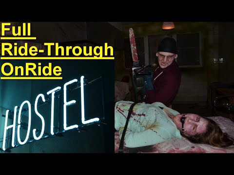 Movie Park Halloween Horror Fest 2017 - Hostel Maze – Presserundgang 05.10.2017 - Hostel Movie Park