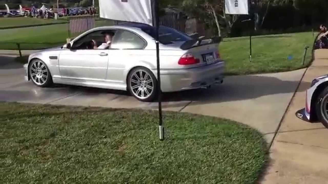 E46 M3 Gtr Street Car Arriving At Legends 2015