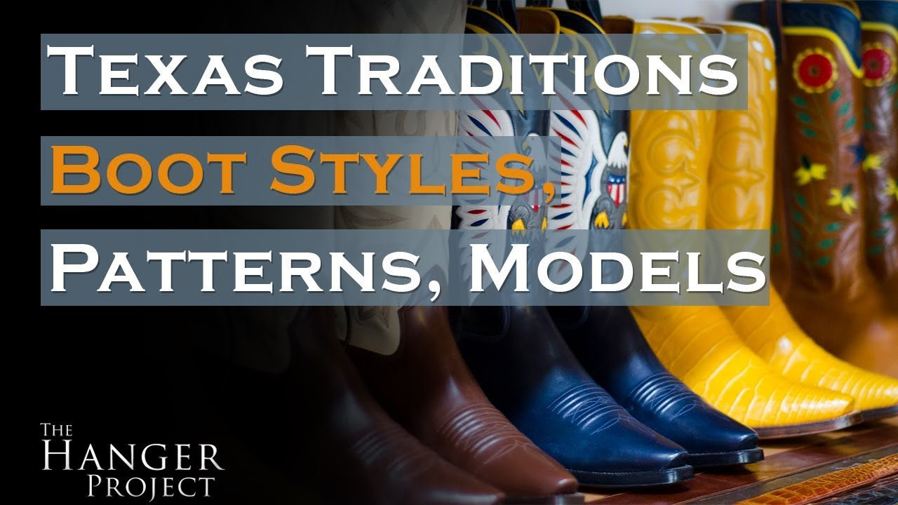 a2c00ba559 Texas Traditions  Iconic Cowboy Boot Designs - YouTube