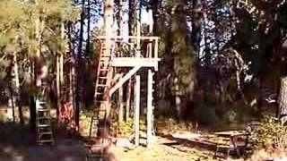 Building A Treehouse With Recycled Materials-re-edit