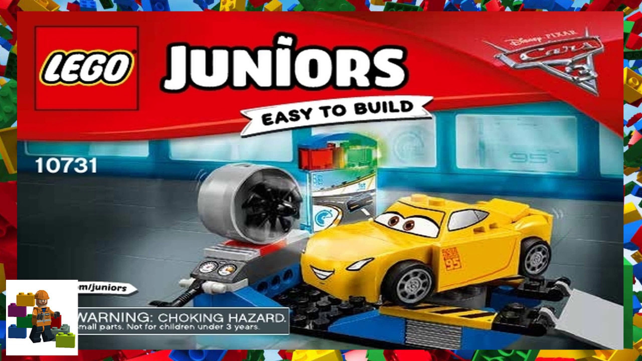 Lego Juniors Disney Cars Cruz Ramirez Race Simulator 10731 NEW Easy To Build