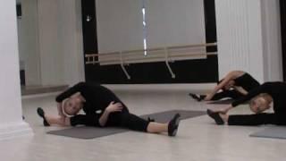 Урок партерной гимнастики для детей