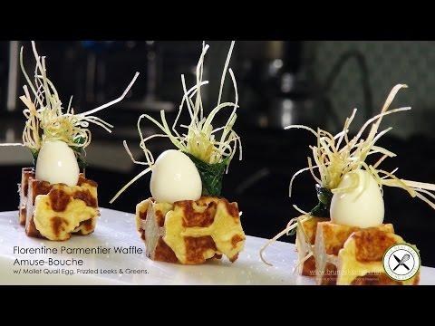 Florentine Parmentier Waffle Amuse-Bouche – Bruno Albouze – THE REAL DEAL