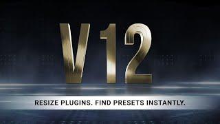 Waves Audio - V12 업데이트 - 창크기 조절가능, 프리셋 텍스트 검색