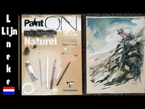 Hoe maak je een berg en meer 9 een met behulp van acryl op doek schilderen from YouTube · Duration:  2 minutes 54 seconds