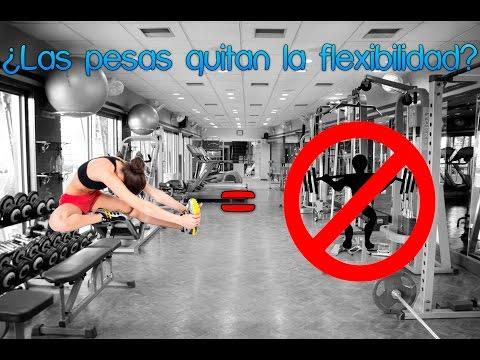 ¿Las pesas quitan la flexibilidad?