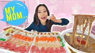 Epic Sushi & Sashimi MUKBANG | Eating Show