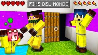 HO RUBATO IN UN BUNKER SEGRETO!! - FINE DEL MONDO - Minecraft ITA