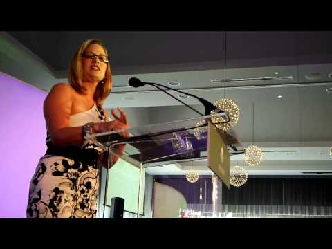 U.S. Rep. Kyrsten Sinema of Arizona at Victory Fund Chicago event