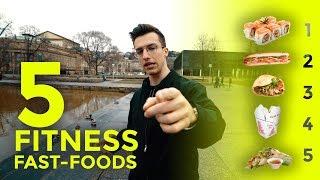 Die 5 Besten Fastfoods Für Fitness | Ernährungstipps | Tim Gabel
