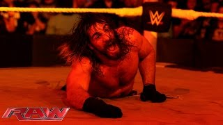Kane drags Seth Rollins to hell: Raw, Sept. 21, 2015