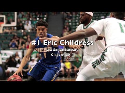 Eric Childress UC Santa Barbara Highlight Tape