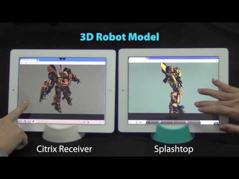 Splashtop vs. Citrix XenApp (HDX)