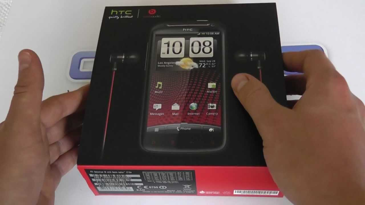 htc sensation xe with beats audio z715e android smartphone