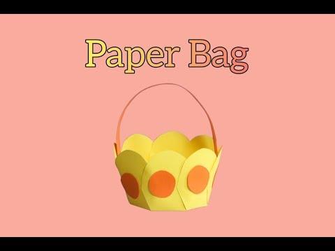 PAPER BAGS | DIY PAPER BAGS | PAPER CRAFT | KIDS CRAFT |