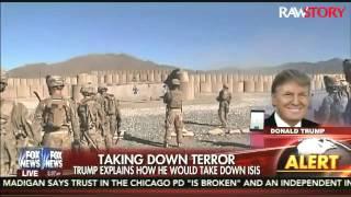 ترامب يدعو لقتل عائلات الإرهابيين للقضاء على داعش.. شاهد