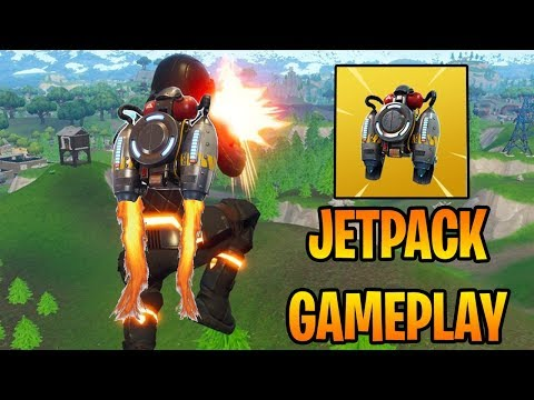 NEW JETPACK GAMEPLAY - FORTNITE JETPACK LTM UPDATE (Fortnite Battle Royale)