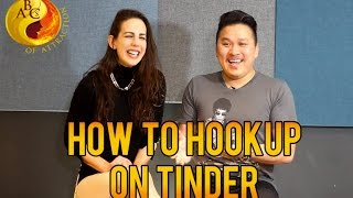 How To Hookup on Tinder Dating Tips  | Ask JT Tran (feat Hayley Quinn)