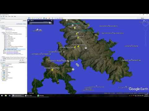 How to simulate a whole planet sea water level rise on google earth super easy
