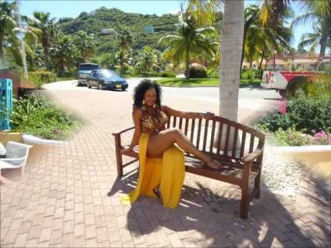 Thick Business in St. Maarten at Orient Bay Beach (Nude Beach)