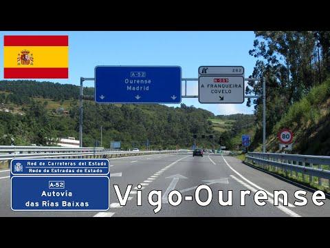 Spain: A-52 Vigo - Ourense