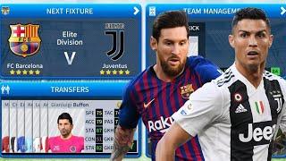 FC Barcelona VS Juventus FC 🔴 Big Match ⚽ Dream League Soccer 2019 Gameplay Highlights⚫Full HD