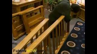 Benches -- Wood Futon Frame Assembly « Tedswoodworking Videos Members Area.flv