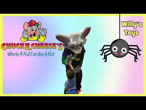 Chuck E. Cheese's Family Fun for Kids - FUNNY Cute GAMES Tickets & Prizes - Willys Toys