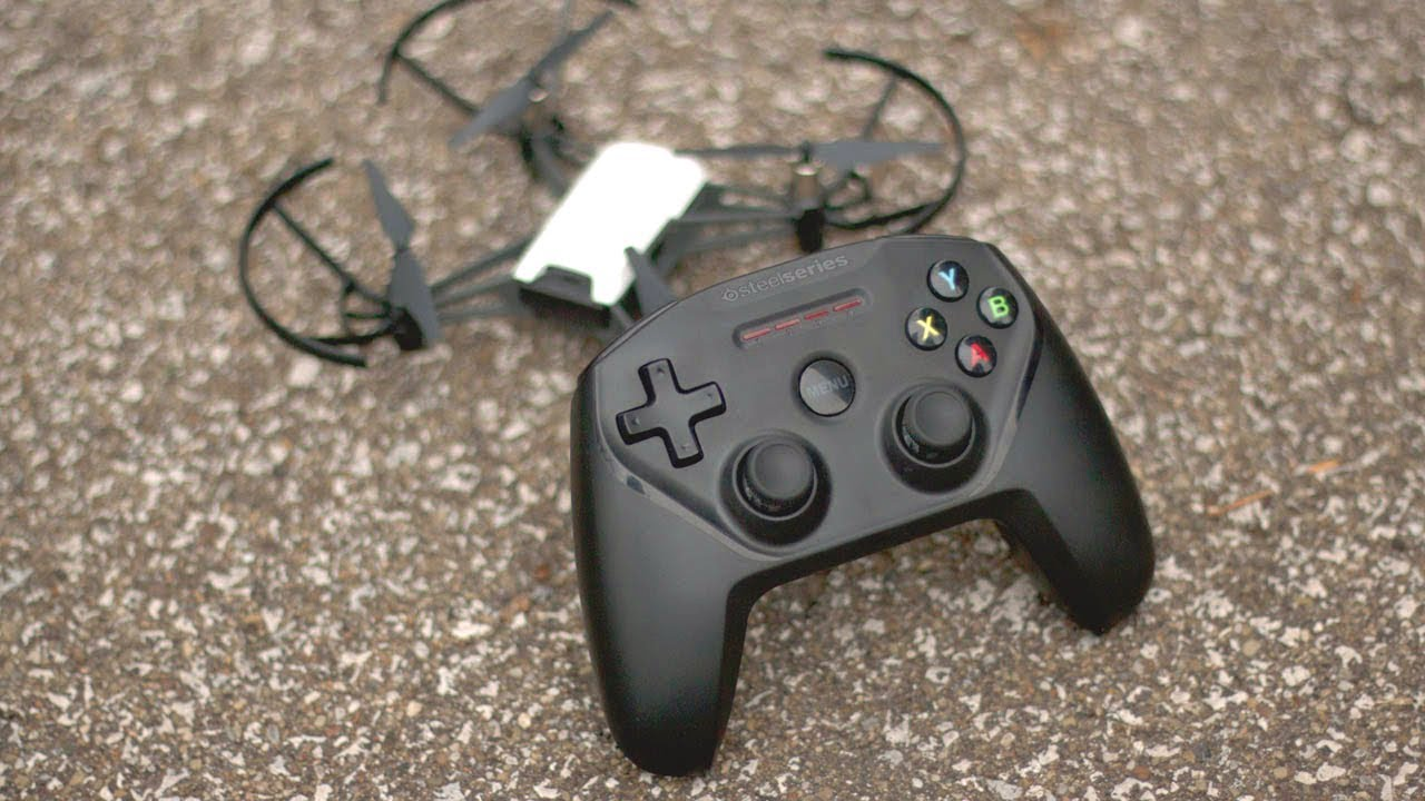 How to use Tello drone with a bluetooth game controller