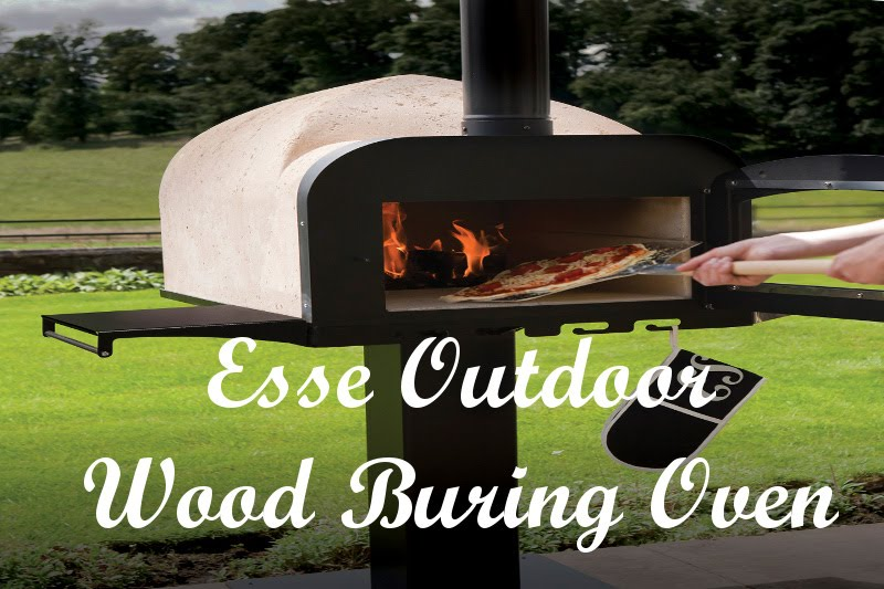 Esse Fire Stone Outdoor Wood Fired Pizza Oven Kit Uk Homemade Burning Outside Stove You