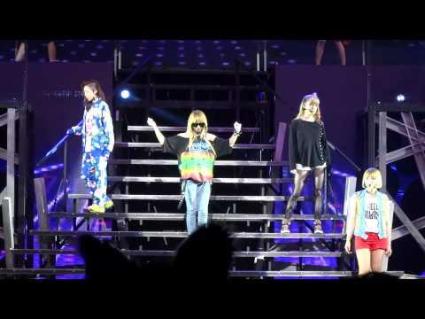 2NE1 STAY TOGETHER New Evolution Soundcheck LA Part 36