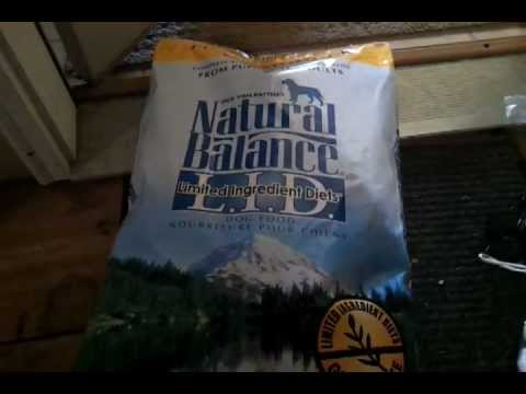 Review: Natural Balance dog food *requested*